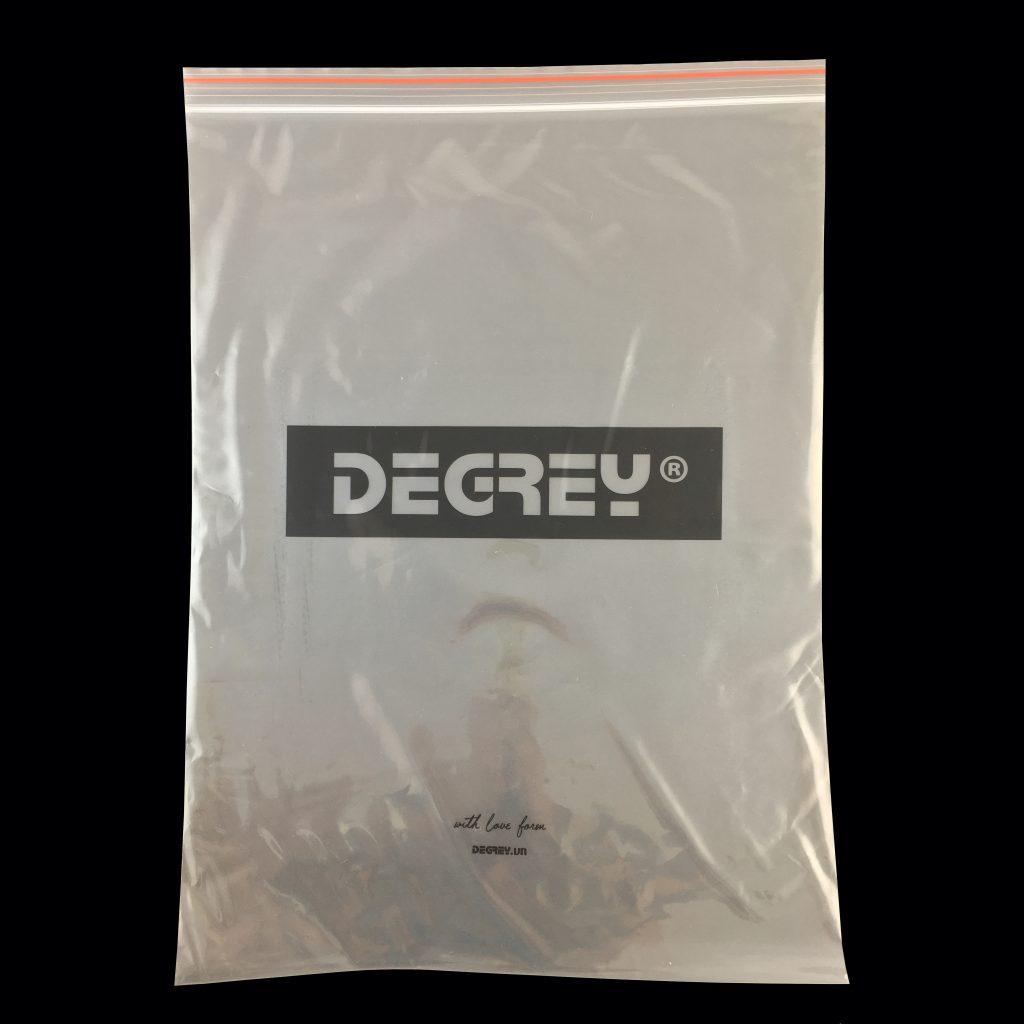 Bao Zipper in Degrey
