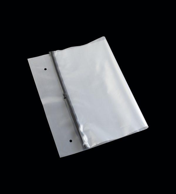 Bao Zipper miệng kéo đen
